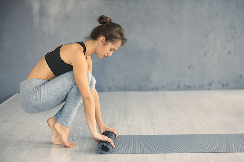 Esterilla de yoga 8