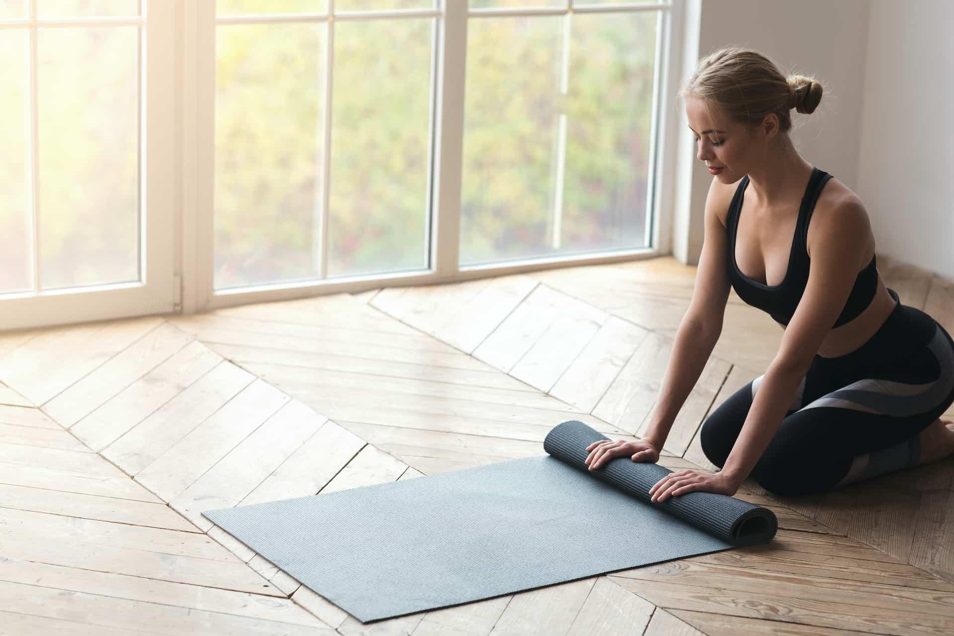 Esterilla de yoga min