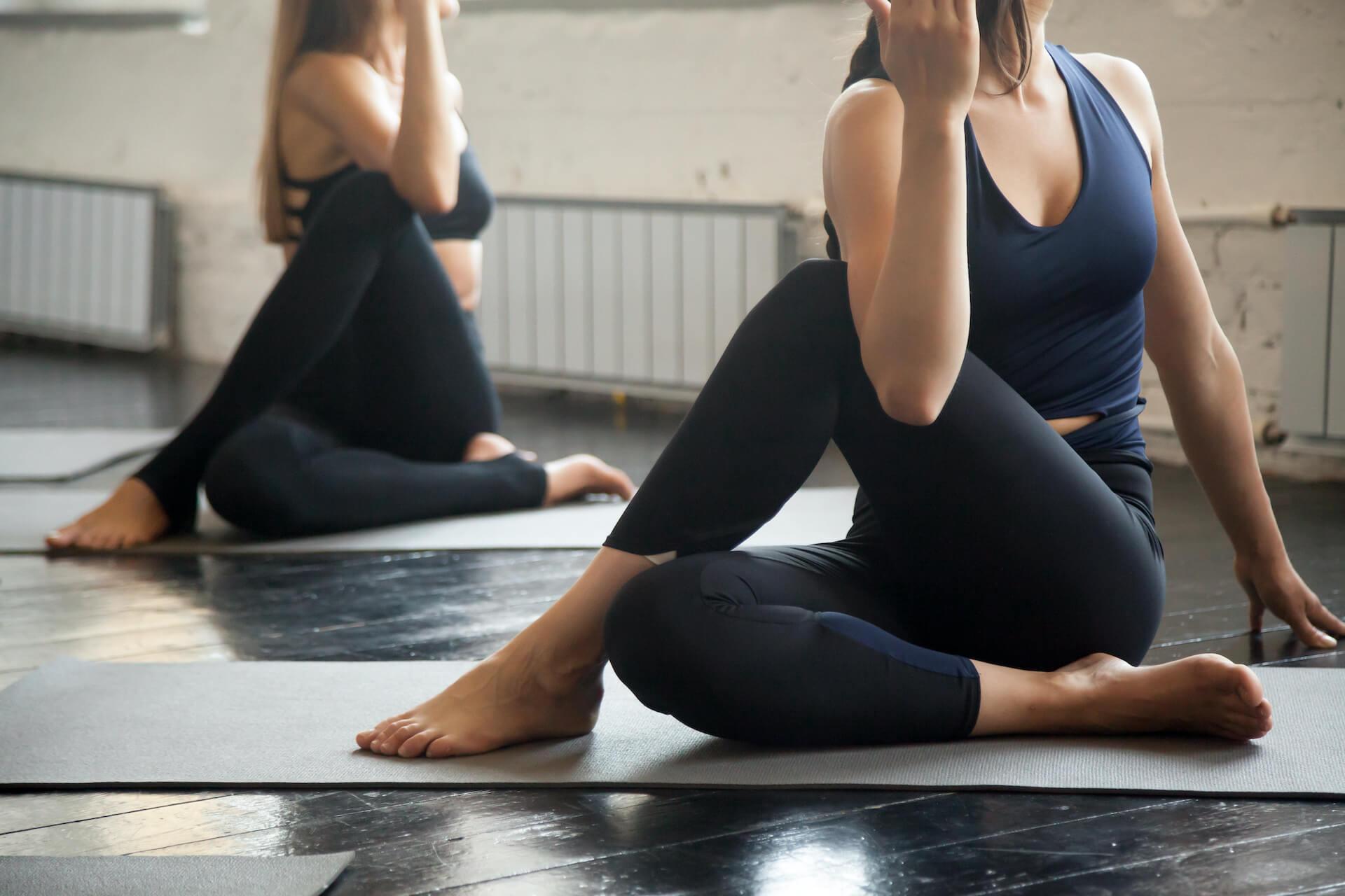 Posturas de Vinyasa Yoga c
