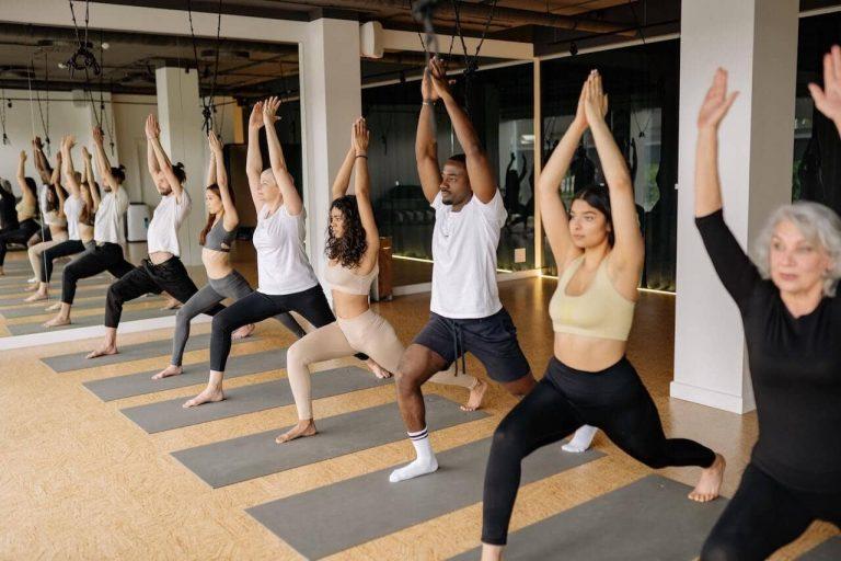 alineación en yoga